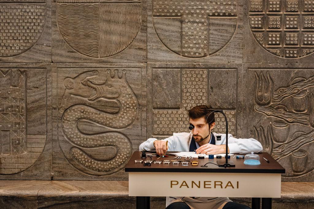 Fotografo eventi Panerai Milano corporate Stefano Pedrelli