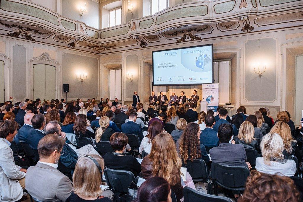 Philantrophy Day 2018 - Fotografie conferenza workshop seminario Milano Stefano Pedrelli