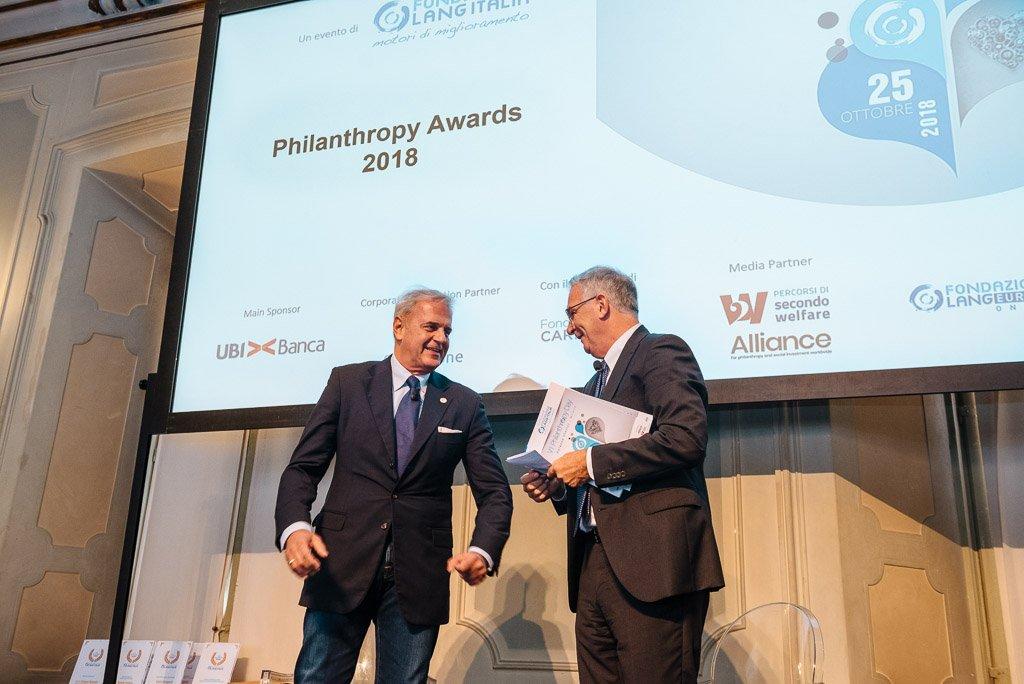 Philantrophy Awards 2018 prima edizione - Fotografie eventi conferenza workshop seminario Milano Stefano Pedrelli