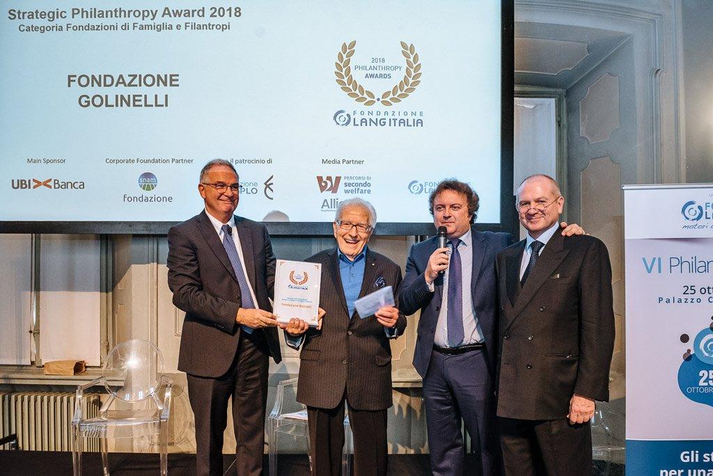 Philantrophy Awards 2018 - Fotografie conferenza workshop seminario Milano Stefano Pedrelli