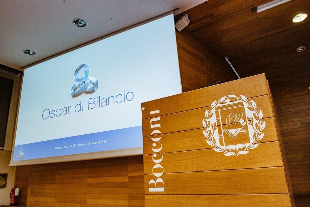 Oscar di Bilancio 2018 Univerità Bocconi - Fotografie eventi conferenza workshop seminario Milano Stefano Pedrelli