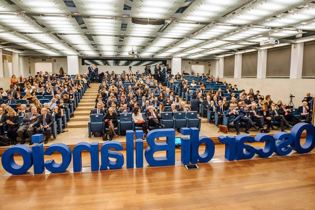 Oscar di Bilancio 2018 - Fotografie eventi conferenza workshop seminario Milano Stefano Pedrelli