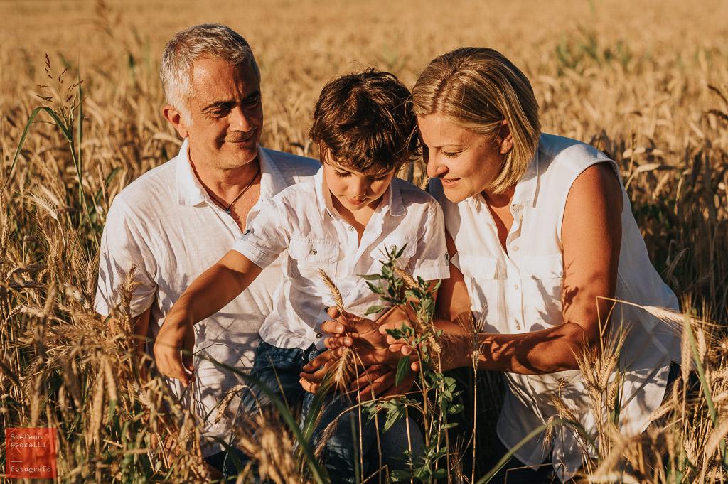 Servizio fotografico di famiglia in esterno a Milano - Fotografo Milano Stefano Pedrelli