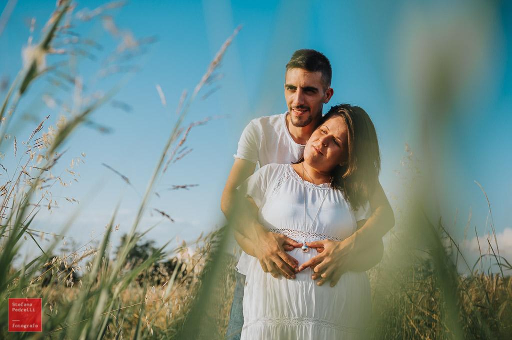 Servizio fotografico di gravidanza in esterno a Milano Stefano Pedrelli Fotografo
