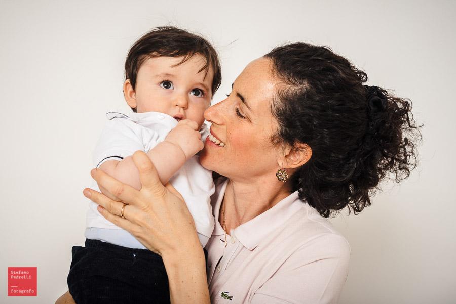 Fotografie famiglia in studio bambini MIlano
