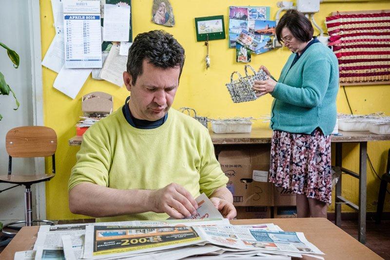 Reprotage Istituto Sacra Famiglia Cesano Boscone Vita Magazine Stefano Pedrelli Fotografo