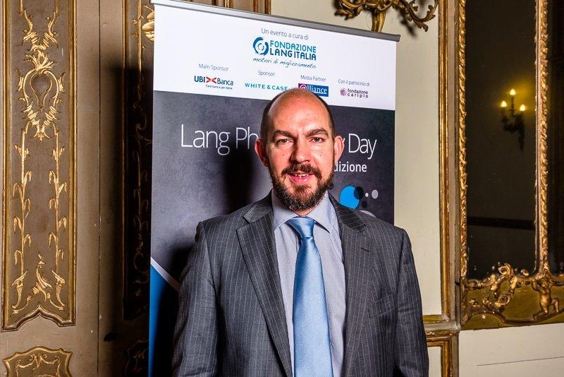 Tris Lumley , Director of Innovation & Development New Philanthropy Capital Palazzo Clerici Milano Lang Philantrophy Day 2017 - Stefano Pedrelli Fotografo
