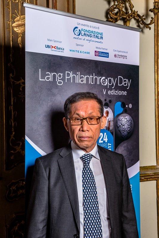 Shuichi Ohno , President The Sasakawa Peace Foundation Palazzo Clerici Milano Lang Philantrophy Day 2017 - Stefano Pedrelli Fotografo