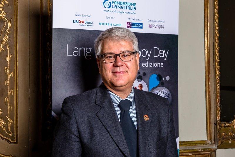 Roberto Bennati , Vice Presidente LAV - Italia Palazzo Clerici Milano Lang Philantrophy Day 2017 - Stefano Pedrelli Fotografo