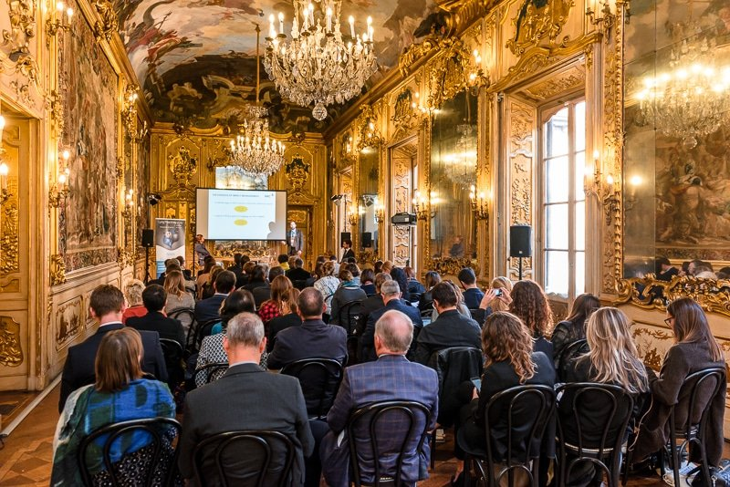 Sala Tiepolo Palazzo Clerici Milano Lang Philantrophy Day 2017 - Stefano Pedrelli Fotografo