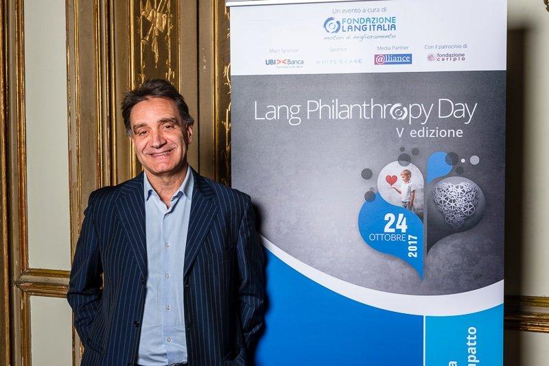 Gian Paolo Barbetta , Professore Università Cattolica - Italia Palazzo Clerici Milano Lang Philantrophy Day 2017 - Stefano Pedrelli Fotografo