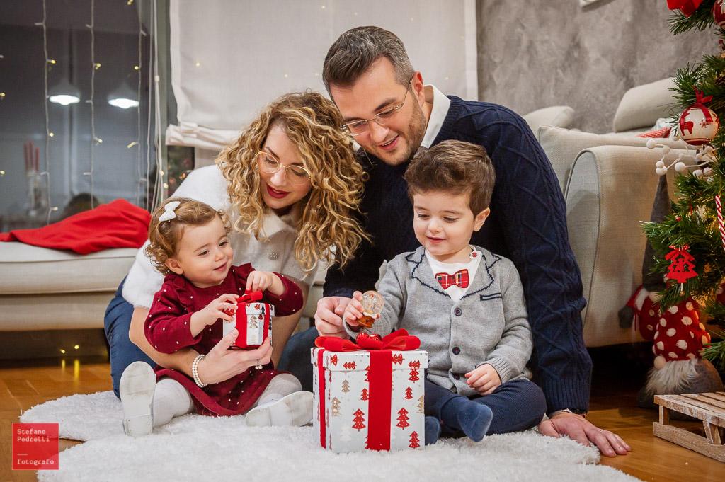 Sessione natalizia a casa Fotografo Milano Stefano Pedrelli